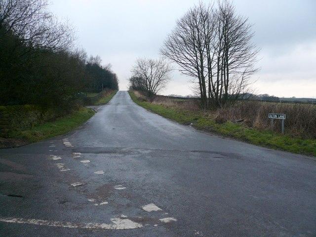 Milken Lane - Junction with Alton Lane