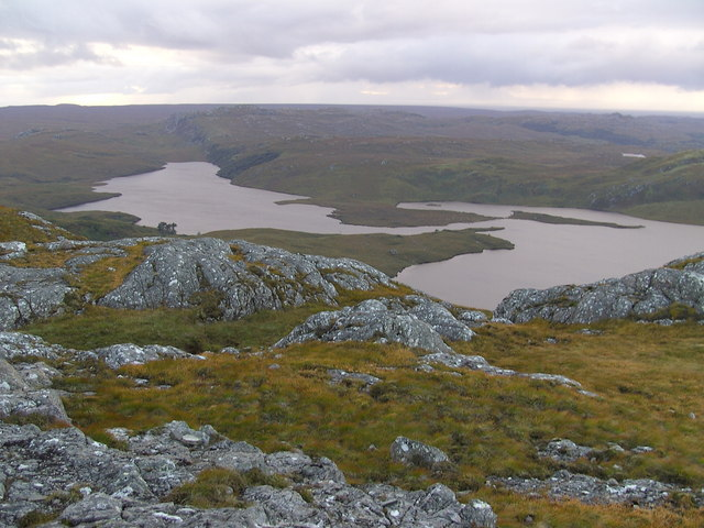 View from Meall a' Ghlas Leothaid