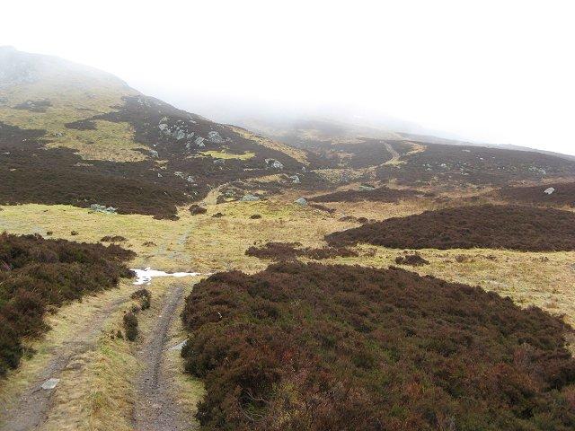 Path along the Clunskea Burn