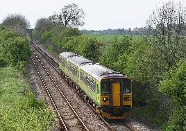 Railway near Helpringham