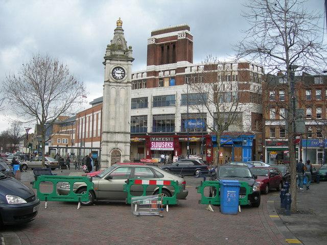 Lewisham High Street near Clock Tower