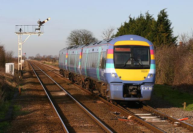 Railway at Manea