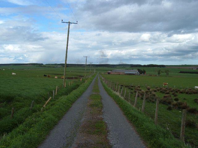 Road near Brownhill