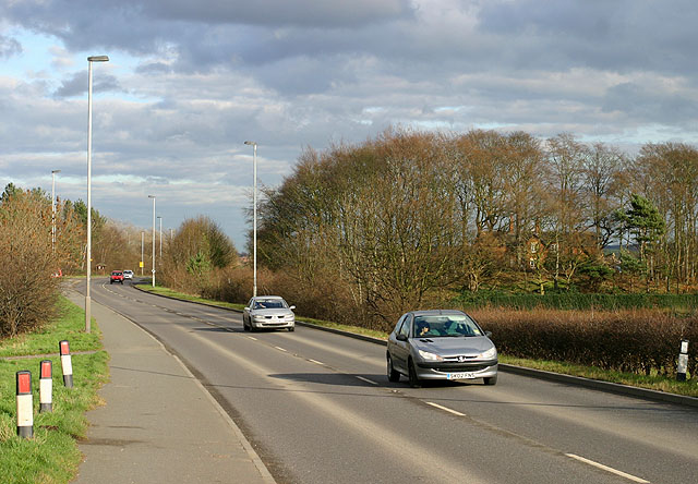A6075 near Thoresby Colliery