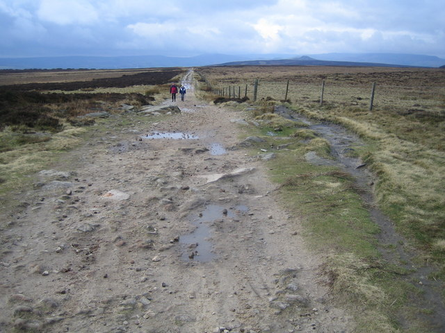 Stanedge Pole: Track to Stanage Edge