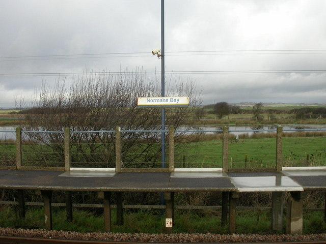 Normans Bay Halt, Pevensey Bridge Level, E. Sussex