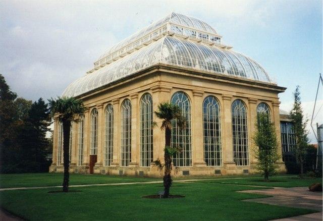 The Palmhouse at  Edinburgh Botanical Garden