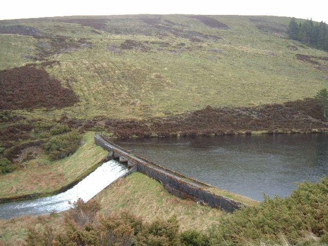Dam near Inchmore Bothy