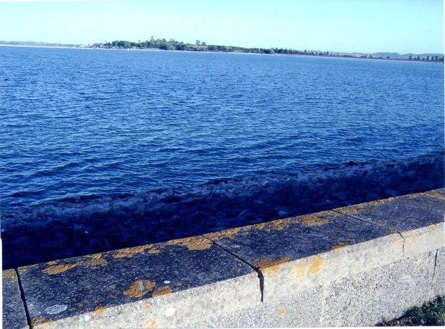 Blue water at Draycote Water