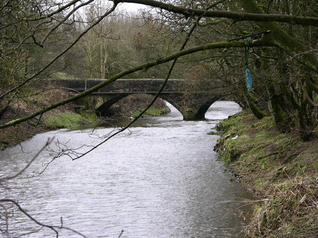 Bridge over River Irwell at Lumb