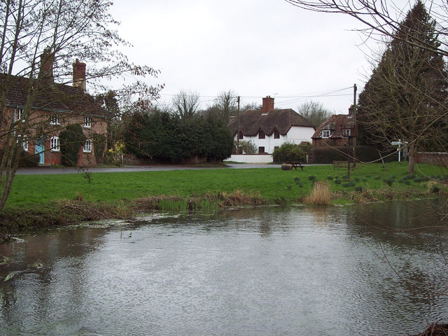 The River Dun at West Dean