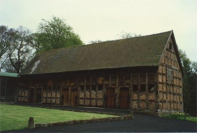 Tithe Barn, Hodnet Hall