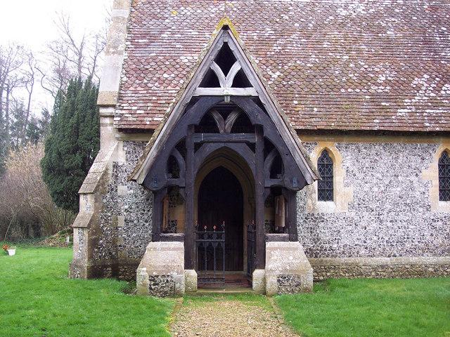 Holy Trinity Church, East Grimstead - Porch