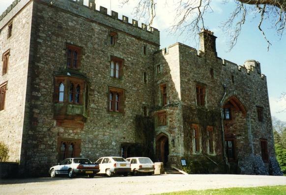 South easterly aspect of Muncaster Castle