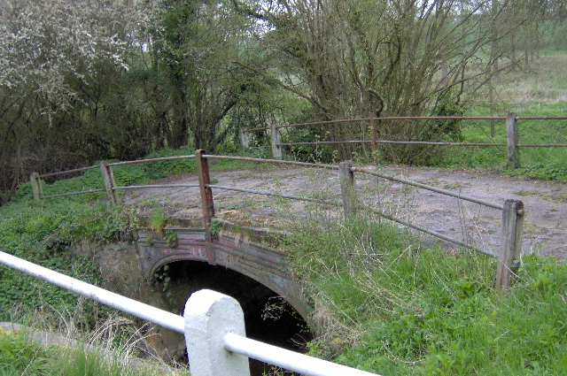 Bridge over River Brett, Brent Eleigh