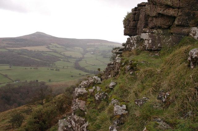 Crags on Bryn Arw