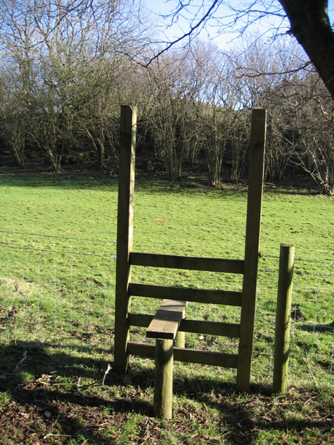 Stile on the Clwydian Way