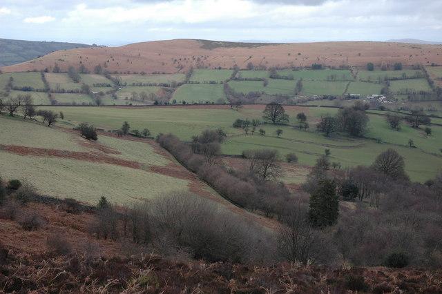 Farmland above Blaenawey