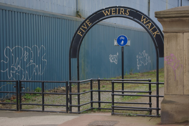 Five Weirs Walk, Attercliffe