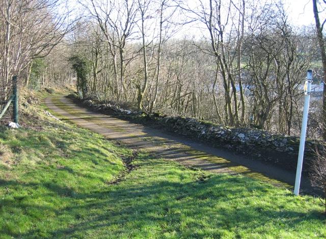 Public Footpath near Tan-y-celn