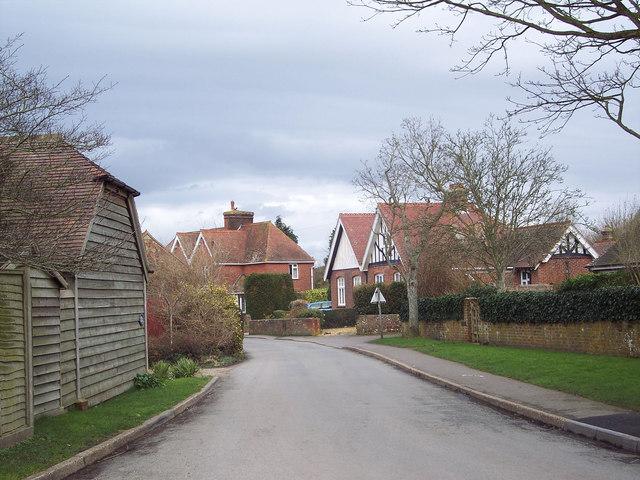 Village street, North Mundham