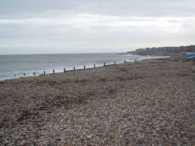 Pebble beach at Selsey