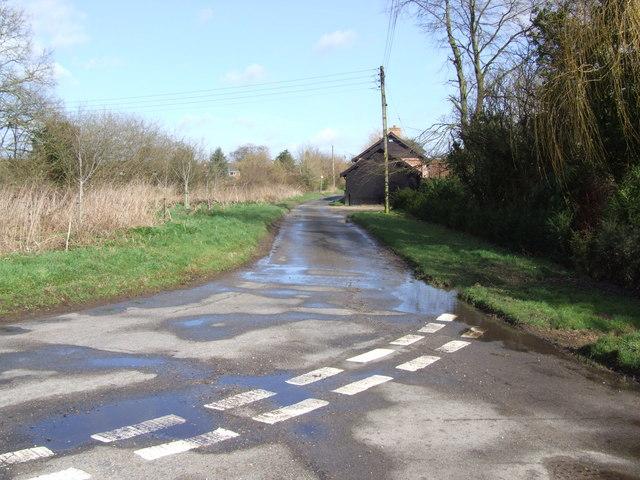 Hawkes Lane, Bracon Ash