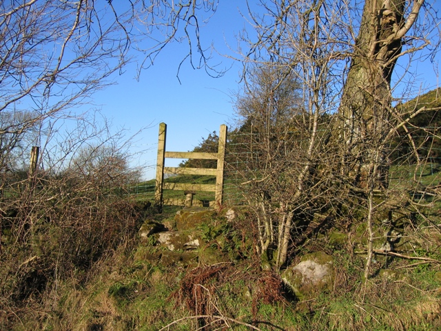 A Good Stile on a Steep Bank