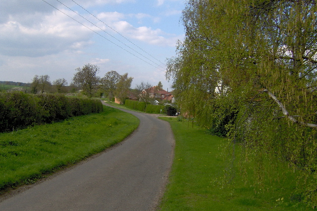 Road from Akeley to Lillingstone Lovell
