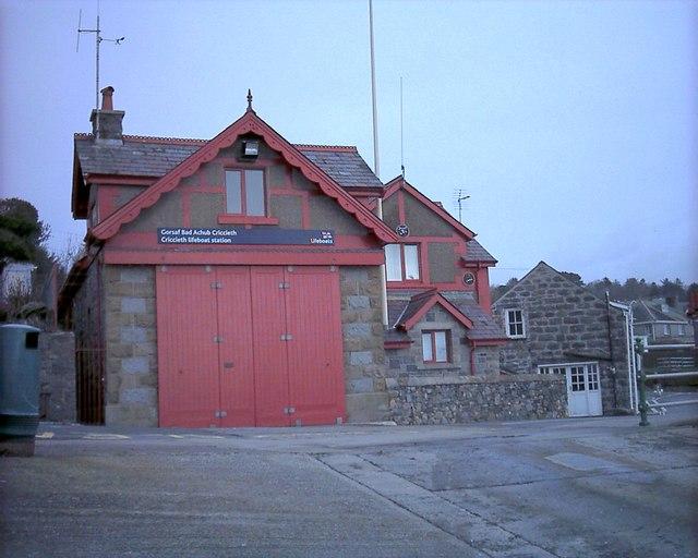 Gorsaf Bad Achub Criccieth Lifeboat Station