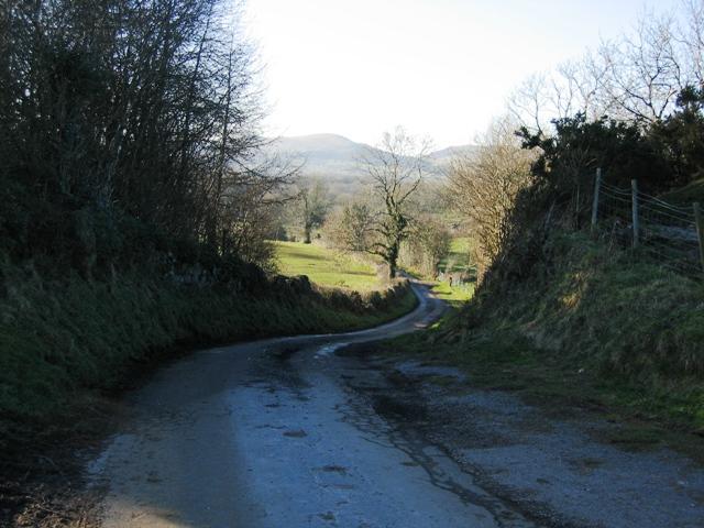 Minor Road to Allt Gymbyd Farm