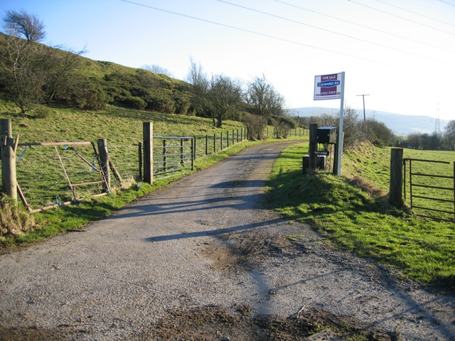 Private Road to Pen-y-Ffridd