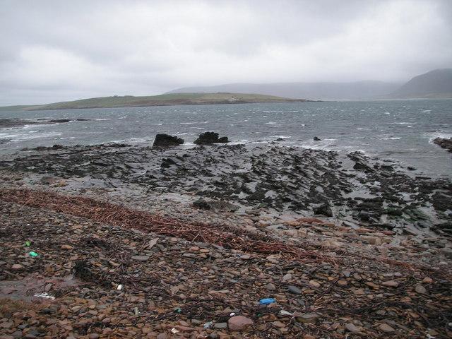 The shore at Netherton