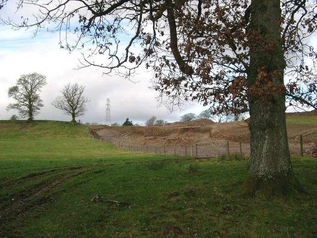 New gravel pit
