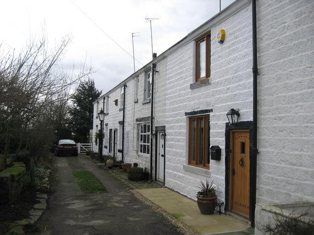 Old Cottages Birtle