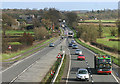 SP3810 : The A40 between Witney and Barnard Gate by Martin Loader