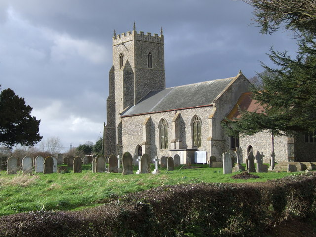 St Mary's Church and Graveyard, Tharston