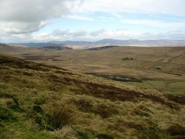 The NE slope of Cromlet