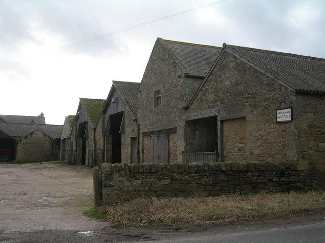 Farm buildings at Crookham Westfield