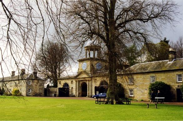 Clock Tower at Wallington Hall