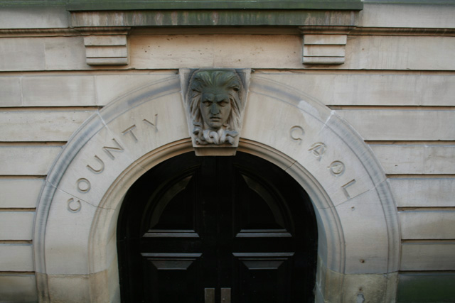 County Gaol, Shire Hall, Nottingham.