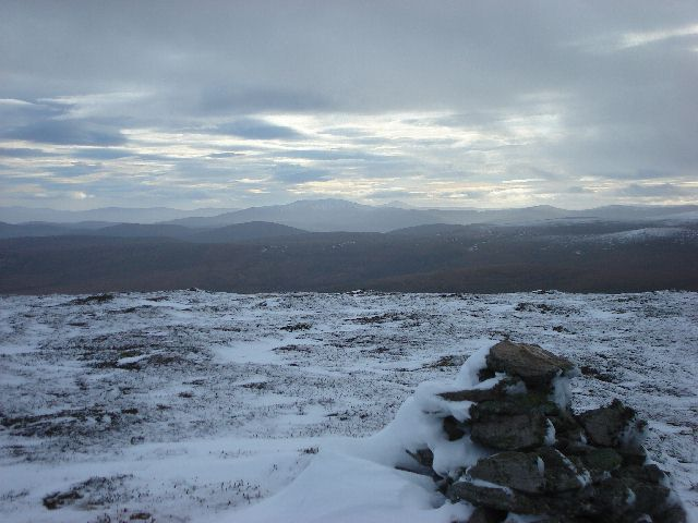 Summit of Cooks Cairn