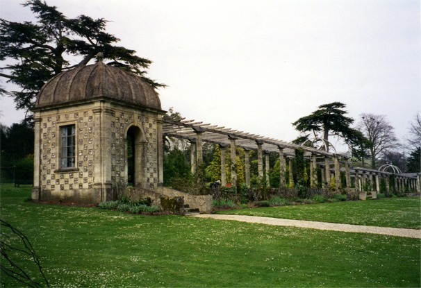 The pergola at West Dean Gardens