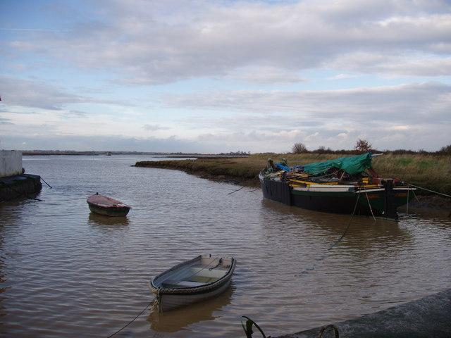 Moorings at Kirby Quay