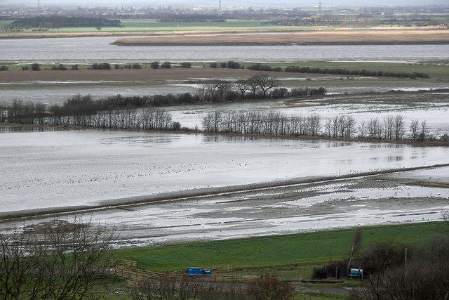 Alkborough Flats in Winter