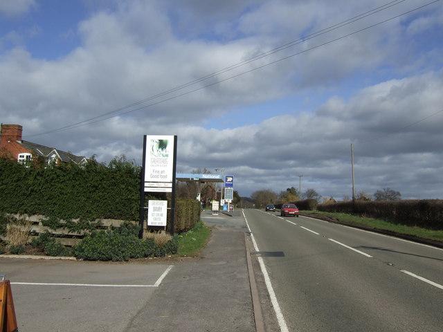 A465 at Wormbridge
