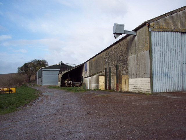 Barns at Chalk Pyt Farm, Broad Chalke