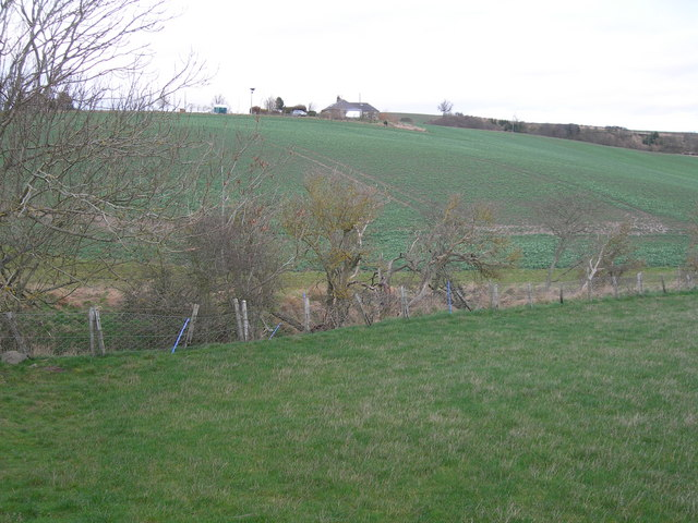 Farmland near Heaton