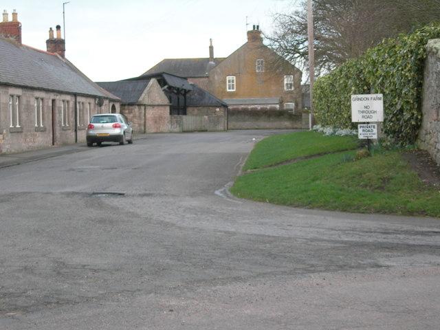 Farm buildings at Grindon Farm