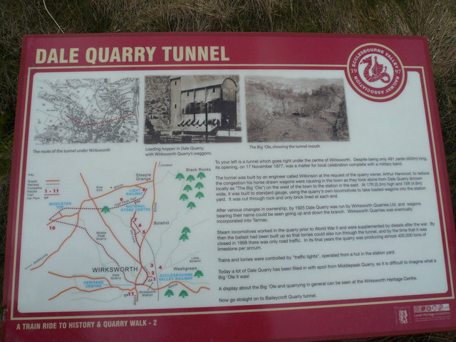 Wirksworth - Dale Quarry Tunnel